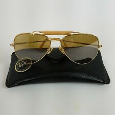 VTG Ray Ban The General 50th Anniversary Gold RB-50 Lens 58mm B&L Sunglasses
