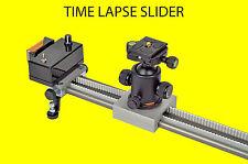 150 cm motorized time lapse video slider timelapse for DSLR GoPro etc.