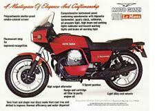 1980 Moto Guzzi LeMans CX100 1000cc full color brochure
