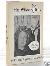 Richard Ingrams Mrs Wilsons 2nd Diary 1st Ed 1966 hb dj