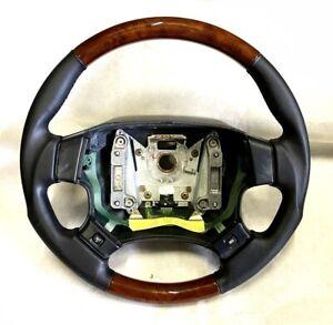 Original Range Rover LP P38 Wood Leather Steering Wheel New Z283400