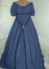 Chemise Civil War / Renaissance chemise navy blue  day dress / under gown dress