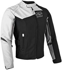 NOS SPEED AND STRENGTH 870682 BACKLASH TEXTILE JACKET WHITE BLACK SIZE WOMENS SM