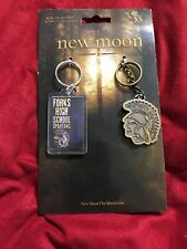 New Twilight New Moon 2 Forks High School Spartans Keychain Key Chain Ring Set