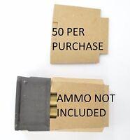 50X M1 Garand USGI 8RD enbloc clips cardboard Inserts Silencers Bandoleer