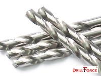 "3/8"" Jobber Length Drill Bits, 5pcs HSS M2 Bright, For Metal"
