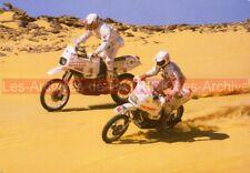 Pierre-Marie POLI Gilles BURGAT Rallye-PARIS-DAKAR Carte Postale Moto Postcard