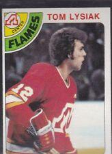1978-79 TOPPS HOCKEY TOM LYSIAK #97 FLAMES NMMT *54801