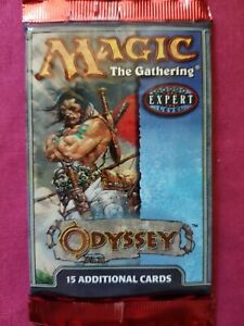 1 random unweighed sealed Odyssey Factory Booster pack expert mtg from box gift