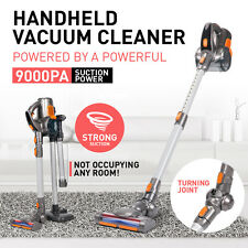 Rechargeable Cordless Handheld Handstick VAC Vacuum Cleaner Turbo Head 7000pa
