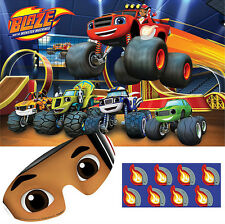 Blaze And The Monster Machines Party Supplies PARTY GAME Up To 8 Players