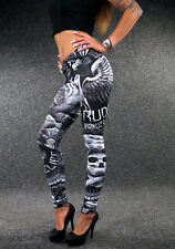 YAKUZA City Girl Leggings GL 2283 Damen XS S M L XL sexy Eagle Skull Pants