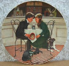 8½� Valentine's Day Plate 4th Issue in Americana Holidays Paint By Don Spaulding