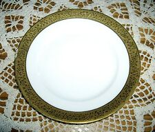 "Vintage Haviland Limoges France Gold Embossed  Trim Bread & Butter 6"" Plate ~"