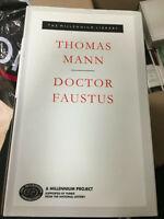 DOCTOR FAUSTUS  THOMAS MANN  MILLENNIUM LIBRARY HB EX LIBRIS