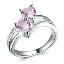 Women Love Heart Best Friend Ring Promise Jewelry Friendship Rings Girl Gift Hot