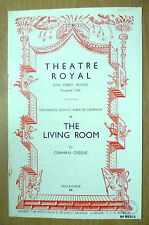 Theatre Royal Bristol Programme 1954 THE LIVING ROOM By Graham Greene
