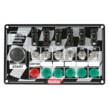 Quickcar ignition panel ,ignition switch with light ,MOM start button,5 SWITCHES