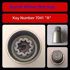 """Genuine Suzuki Bloccaggio Dadi Ruota/Chiave 7041 """"A"""""""