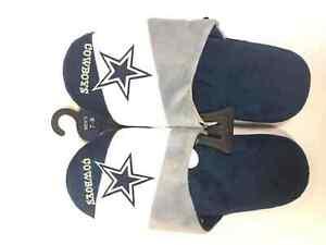 Dallas Cowboys Mens Colorblock Slide Slippers