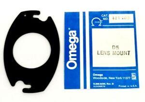 Omega D5 Lens Mount Board Oval Plate  39mm Unthreaded Hole 421-116 / 421-109