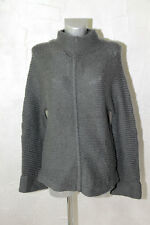 joli gros pull mérinos extra fine gris M&F GIRBAUD Taille XL PRIX BOUTIQUE 280€