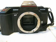 Minolta Maxxum 5000 AF 35mm Film Camera body only tested manual film photography