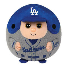 TY MLB Beanie Baby Ballz - LOS ANGELES DODGERS (5 inch) - MWMTs Ball Toy