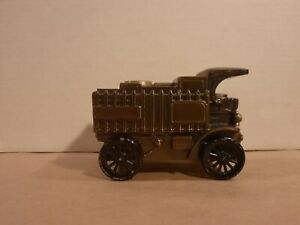 Banthrico 1906 Chain Drive Mack Truck Metal Coin Bank