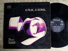 Giampiero Boneschi – A Film...A Song...   LP COLONNA SONORA