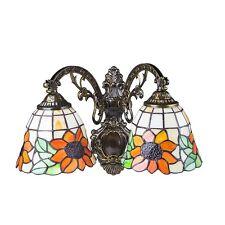 Tiffany Style 2 Heads Wall Lamp WL08004 s3