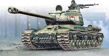 1/56 28mm Warlord WWII Josef Stalin IS-2 mod.1944 (x2) model kit by Italeri