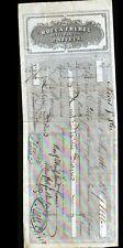 "MARSEILLE (13) SAVONNERIE / SAVONS ""P. ANTOINE / ROCCA Freres Succ."" en 1861"