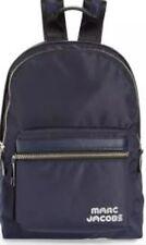 New Marc Jacobs Medium Trek Nylon Backpack Navy sporty logo lightweight bag