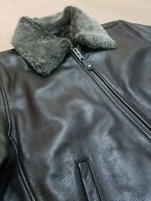 MENS SCHOTT LC-9300 FIGHT /FLYING  LEATHER JACKET