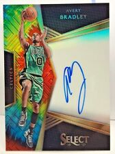 Avery Bradley 2016-17 Panini Select Signatures TIE-DYE Prizms on-card Auto #d/25