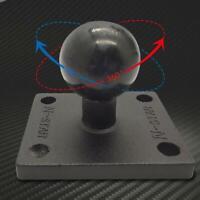 Aluminium-Vierkantfuß mit Kugelkopf für Ram Garmin-Halterung