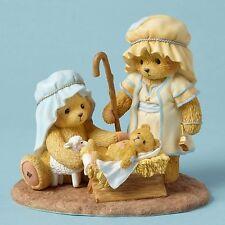 Cherished Teddies~JOESEPH, MARY AND BABY JESUS~2016~FREE SHIP