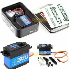 Power HD Waterproof Servo 4.8-6.6v High Torque Digital Servo RC Crawler Car 23KG