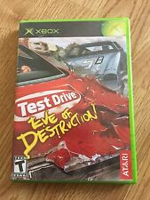 Test Drive: Eve of Destruction  (Xbox, 2004) Flawless Mint Disk