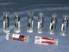 t10 Eight (8) Wet n Wild Fantasy Makers Lipsticks Full Size 2 Red & 6 Black