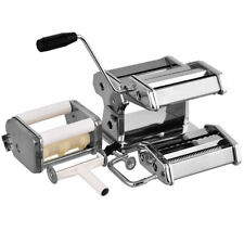 Fresh Pasta Maker Machine Roller with 4 Cutters Bonus Ravioli Cutter