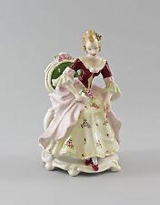 Porzellan Figur Ens Rokoko-Dame mit Rosen H19cm 9997166