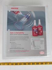 Loctite Product Guide Threadlock Adhesives Bonding Plastics & Rubber Equipment L