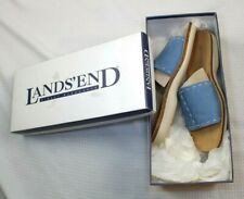 Lands End New in Box Size 7.5 Women's CORK SLIDE Sandals