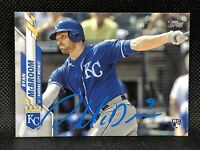 2020 Topps Series 2 Ryan McBroom Hand Signed Rookie Card #671 KC Royals AUTO