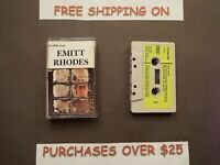 EMITT RHODES (OF THE MERRY-GO-ROUND) SELF TITLED UK IMPORT CASSETTE B50
