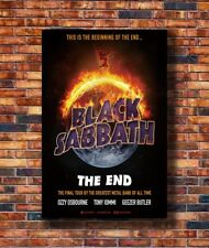 Costom Poster Black Sabbath the End Final Tour Ozzy 12x18 27x40 Art Silk