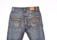 Nudie Band Ted Gebraucht Braune Welle Herren Jeans Größe 30/34