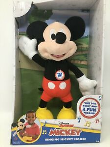 Disney Junior Mickey Mouse Singing Mickey Hot Dog Theme Song and 4 Fun Phrases